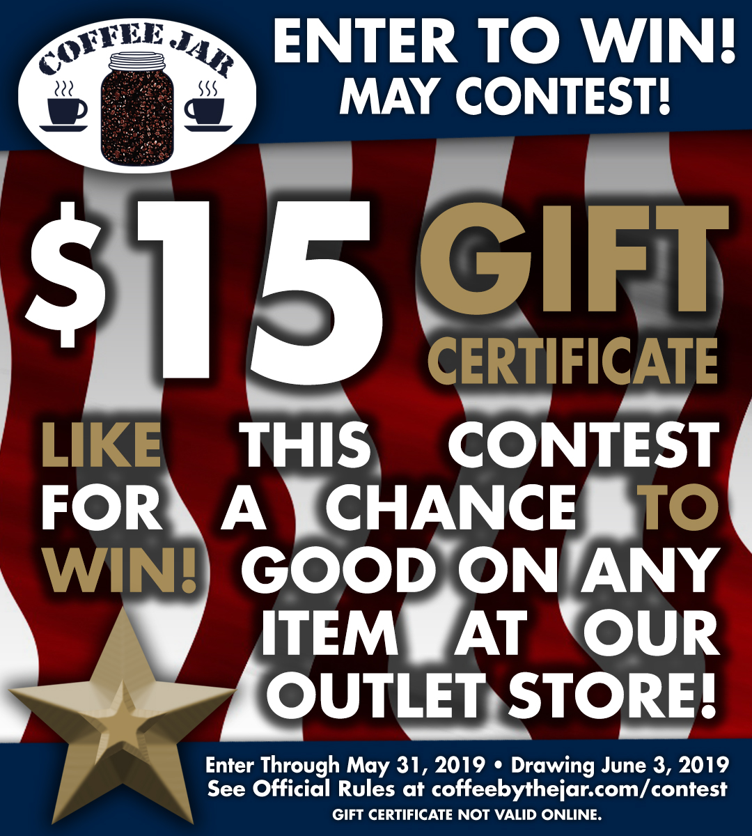 May Contest - Enter through May 31, 2019, Winner Picked June 3, 2019